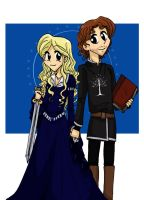 Eowyn and Faramir by BlueSeptember