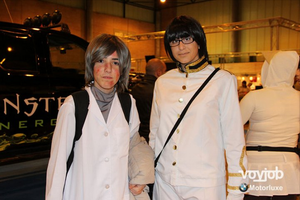 I MangaFest (Sevilla, Spain) - Kiku Honda ft. (?) by ArantxaCosplayer