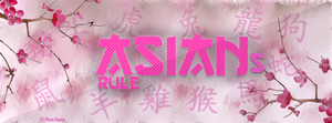 Asians Rule Facebook Cover by justRainny