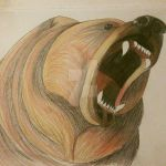 Grizzly Bear by wolfhogen