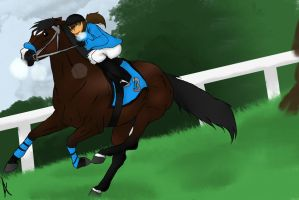 Beating You Black And Blue by HoofHaven