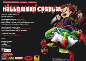 Halloween_Cosplay poster 002 by Grethe--B