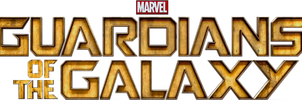 Guardians of the Galaxy Logo Render by Animeman1000