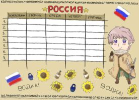 Russia timetable by MonsterBatIdea