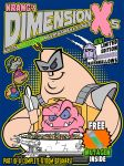Krang's Dimension Xs cereal by TheMonsterfink