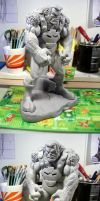 Ulik Bowen Designs custom conversion bust statue by figuralia