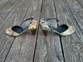 Lion King heels - FOR SALE - 4 by Kira-Kat