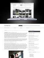 Photography Blog Layout by voodoosimon