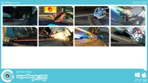 WipEout HD Alpha Pack by DRSpaceman