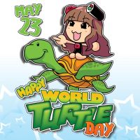 HAPPY WORLD TURTLE DAY by sanwookong