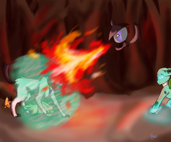 Through the Flames by kyro909