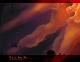 Fire in the Sky by Ulario