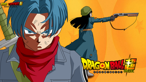 Mirai Trunks y Mai Dragon ball Super ecena by jaredsongohan