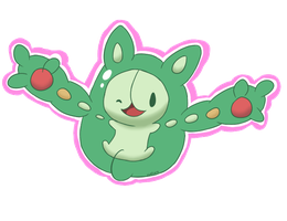 DexDraw N.579- Reuniclus by lemoncave