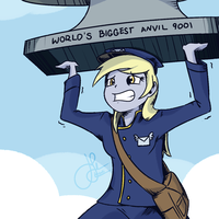 Humanized - Derpy the Mailmare by mlpLazuli