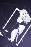 Lady Death 18 Art Deco Cover by MDiPascale