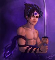Hiei 2.0 by MockingbirdFly