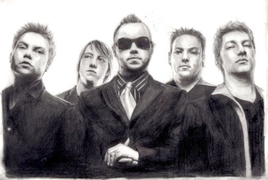 Blue October Group Portrait by SunlessDay