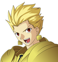 Gilgamesh Vector by mike-rmb
