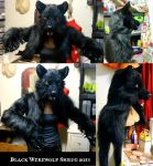 Black Werewolf Shrug and Note on Werewolf Shrugs by Magpieb0nes