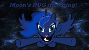 Wallpaper Luna Moon's HUG incoming! by Barrfind