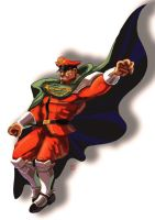 M Bison/Vega Manhua style - sort of by Shadaloo1989