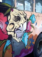 Sam Flores in the bus by GraffMX