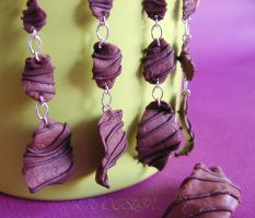 Clay Choclait Chips by LadyxWinter