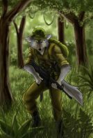 Wolf soldier by J-C