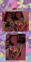 My Little Pony Vans by Meireich