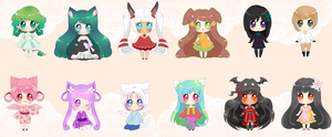 Mini Cheeb v2 Batch 2 by PuffyPrincess