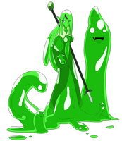 Mage Slime colored by Kai-Chronaius