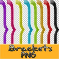 Brackets PNG by Monse-Editions