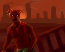 wastelands by CrashSpyro98