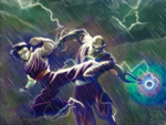 Lightning Clash by KonceptQueen