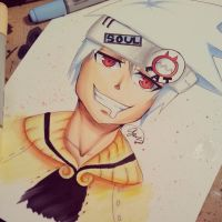 SoulEater Evans (SoulEater Fanart) by NauticaWilliams