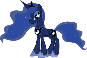 Princess Luna is pleased by MarinaPg