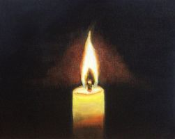 Candle Study by Temporalvisions