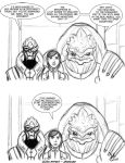 Mass Effect - Awkward by PhoenixFuryBane