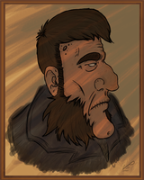 Old-Timey Man with Mutton Chops by slaverstrike
