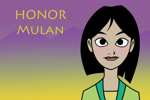 PRIDE: Honor -- Mulan by themollyb