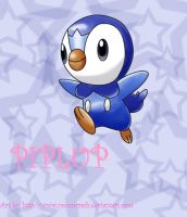 Piplup by CoconCrash