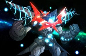Super Galaxy Bat Gurren Lagann by shamserg