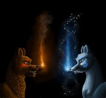 Fire and ice by Fennu