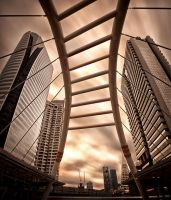 Sathorn Pedestrian Bridge by palmbook