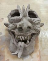 DEMON MASK by CorazondeDios