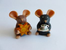 Custom Mini Rats by philosophyfox