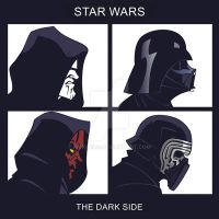 The Dark side by RickCelis