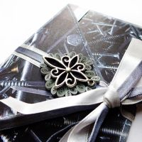 quilling envelope gentleman's by othewhitewizard
