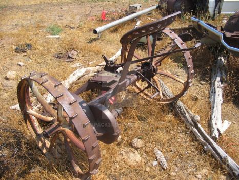 Old Farm Plow by ackpack34